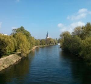 Blick auf die Havel von der Langen Brücke, Potsdam